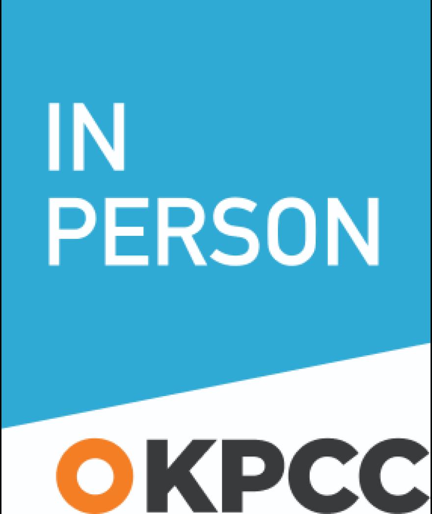 KPCC In Person logo