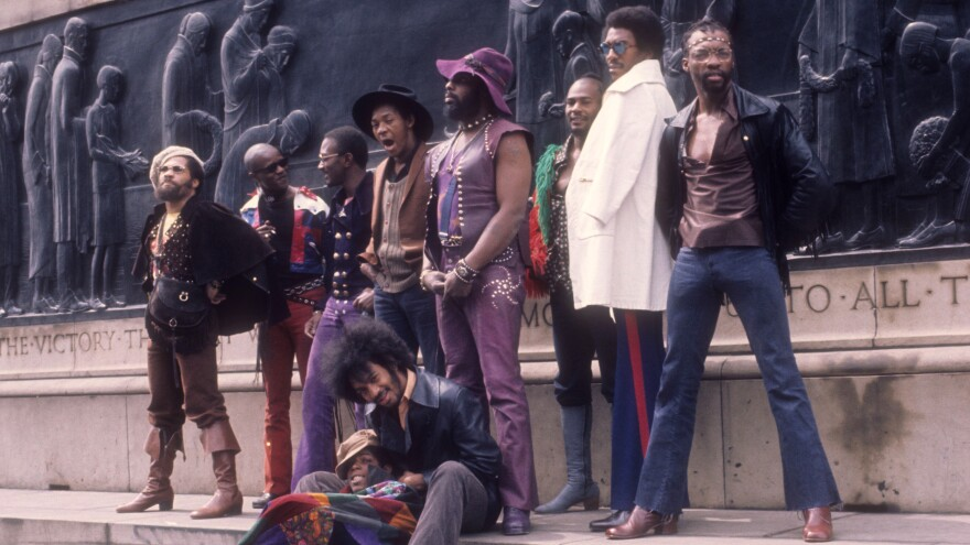 """Funkadelic is the result of George Clinton flirting with psychedelic music, a style he describes as """"loud R&B."""""""