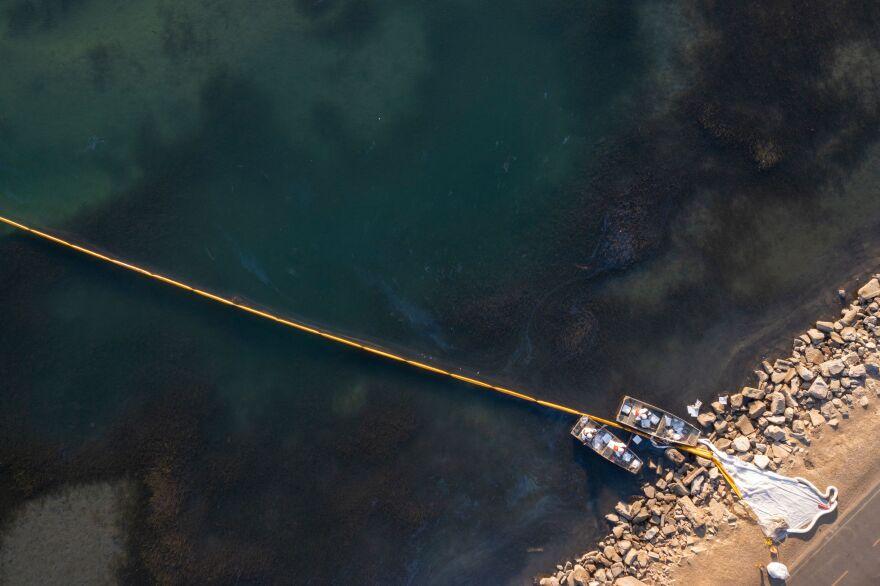 Newport Beach Orange County Oil Spill October 2021