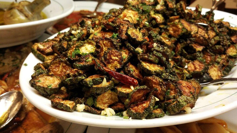 Concia_di_zucchine πιάτο