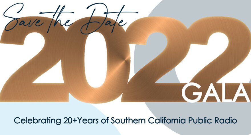 Save the date 2022 Gala