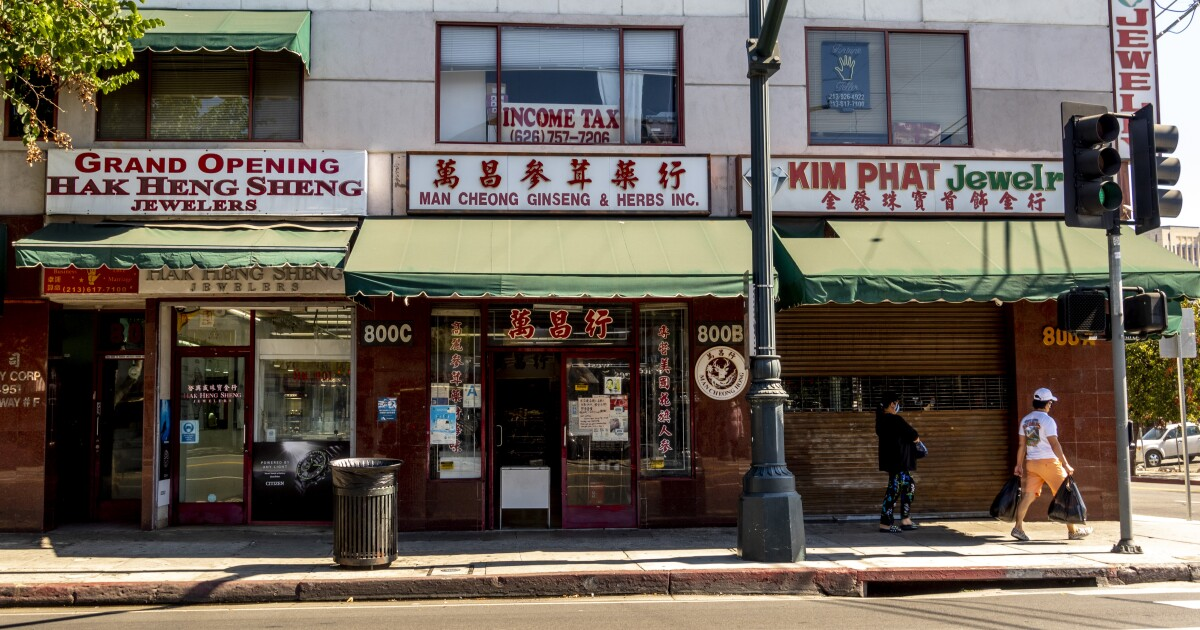 LA's Asian American Businesses Have Been Struggling To Recover From Pandemic Setbacks