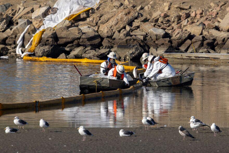Orange County Oil Spill October 2021